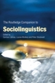 Routledge Companion to Sociolinguistics