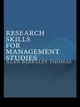 Research Skills for Management Studies
