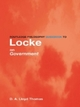 Routledge Philosophy GuideBook to Locke on Government