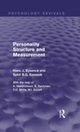 Personality Structure and Measurement (Psychology Revivals)