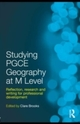 Studying PGCE Geography at M Level