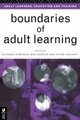 Boundaries of Adult Learning