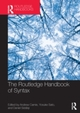 Routledge Handbook of Syntax
