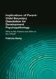 Implications of Parent-Child Boundary Dissolution for Developmental Psychopathology