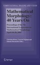 Mathematical Morphology: 40 Years On
