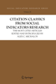Citation Classics from Social Indicators Research