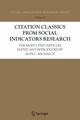 Citation Classics from Social Indicators Research