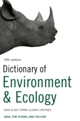 Dictionary of Environment and Ecology