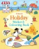 Holiday Sticker & Colouring Book