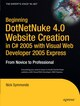 Beginning DotNetNuke 4.0 Website Creation in C 2005 with Visual Web Developer 2005 Express