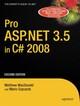 Pro ASP.NET 3.5 in C 2008