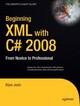 Beginning XML with C 2008