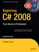 Beginning C 2008