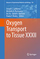 Oxygen Transport to Tissue XXXII