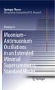 Muonium-antimuonium Oscillations in an Extended Minimal Supersymmetric Standard Model