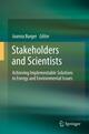Stakeholders and Scientists