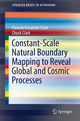 Constant Scale Natural Boundary Mapping in the Solar System and Beyond