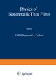 Physics of Nonmetallic Thin Films