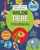 Wilde Tiere Stickerspaß