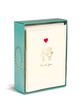 Boxed Notes: Happy Couple - Gruß- und Geschenkkartenbox mit Kuverts: Glückliches Pärchen
