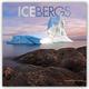 Icebergs - Eisberge 2019 - 16-Monatskalender