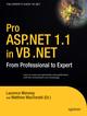 Pro ASP.NET in VB.NET