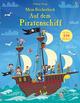 Mein Stickerbuch: Auf dem Piratenschiff