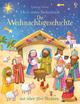 Mein erstes Stickerbuch: Die Weihnachtsgeschichte
