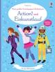 Mein großes Anziehpuppen-Stickerbuch: Action! und Eiskunstlauf