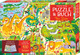Puzzle & Buch: Im Zoo