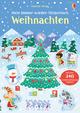 Mein Immer-wieder-Stickerbuch: Weihnachten