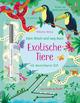 Mein Wisch-und-weg-Buch: Exotische Tiere