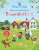 Nina und Jan - Mein erstes Stickerbuch: Bauernhoftiere