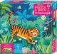 Erstes Puzzle und Buch: Im Dschungel
