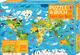 Puzzle und Buch: Tiere der Welt