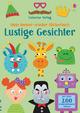 Mein Immer-wieder-Stickerbuch: Lustige Gesichter