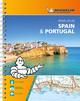 Michelin Straßenatlas Spanien & Portugal mit Spiralbindung