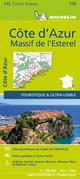 Michelin Côte d'Azur - Esterelmassiv