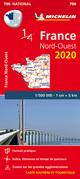 Michelin Nordwestfrankreich 2020