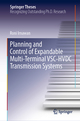 Planning and Control of Expandable Multi-Terminal VSC-HVDC Transmission Systems