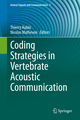 Coding Strategies in Vertebrate Acoustic Communication