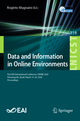 Data and Information in Online Environments