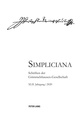 Simpliciana XLII (2020)