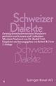 Schweizer Dialekte