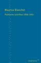 Politische Schriften 1958-1993