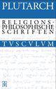 Drei religionsphilosophische Schriften