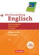 Abschlussprüfung Englisch - English G 21, Thüringen, Regelschule
