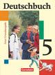 Deutschbuch, Sprach- und Lesebuch, Grundausgabe, Os Rs Gsch, neu