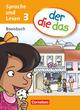 der die das - Sprache und Lesen, Deutsch-Lehrwerk für Grundschulkinder mit erhöhtem Sprachförderbedarf, Gs