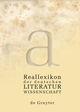 Reallexikon der deutschen Literaturwissenschaft